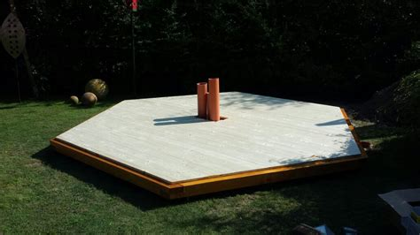 Home Layout Design fass sauna holzfundament