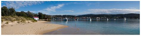 old boat harbour park fingal panoramas australia nsw
