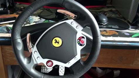 volante f430 thrustmaster f430 racing wheel review hd