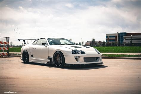 custom supra ultra modern tuning for white toyota supra with custom