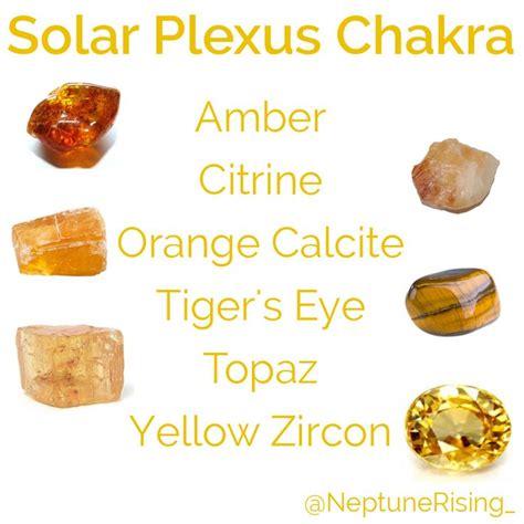 solar plexus crystals 7 best chakra crystals images on chakra