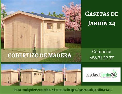 construir un cobertizo de madera blog casetas de jardin 24