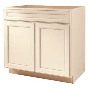 In w x 35 in h x 23 75 in d finished toasted antique sink base cabinet