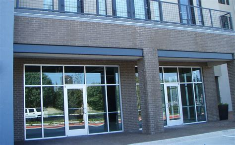 """Storefront or Curtainwall?   """"MICHAEL E. BROWN"""