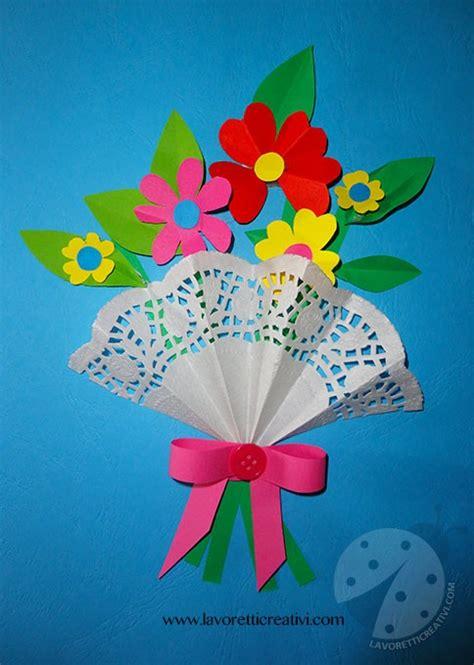 lavoretti fiori di carta fiori di carta per la festa della mamma