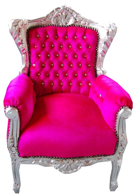 hot pink armchair suitable throne for the love of furniture pinterest