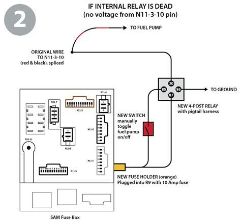 smart car starter wiring diagram circuit and schematics