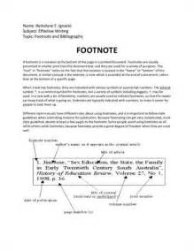 Exles Of Footnotes In An Essay by Research Papers With Footnotes Michigan State