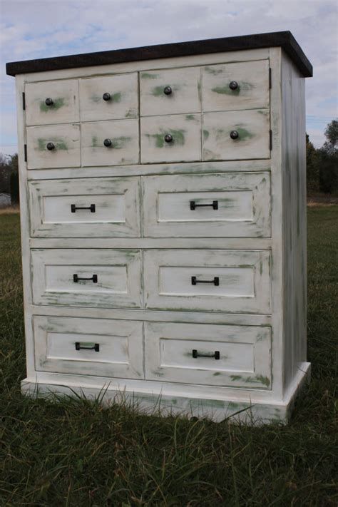 Distressing Dresser by Items Similar To Distressed Dresser With A Beaten Top