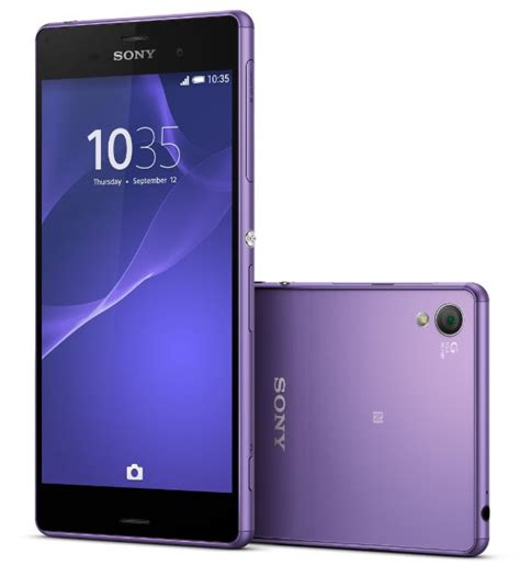 Soft Xperia Z3 sony xperia z3 quot purple soft quot and quot silver green quot color now