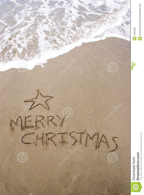 summer christmas stock image image of water sandy