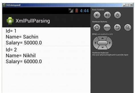 android tutorial javatpoint android xmlpullparser tutorial javatpoint