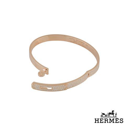 hermes gold bangle h109500b 00sh rich diamonds of bond