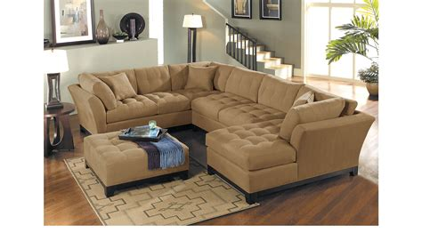 pensacola tan 4 pc outdoor living room set living room sets brown 2 399 99 metropolis peat tan brown 4 pc sectional