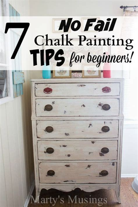 chalk paint diy tips these 7 easy chalk painting tips for beginners will