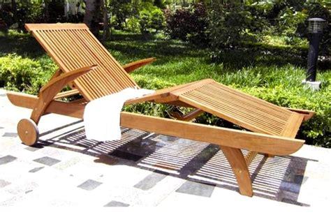 lettino da giardino in legno lettino legno balau lamacchia mobili da giardino riccione