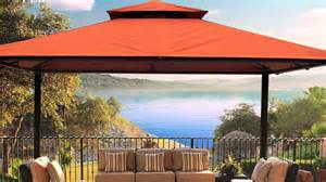 10x13 Pomeroy Domed Top Gazebo by Kingsbury 10 X 13 Soft Top Gazebo Youtube