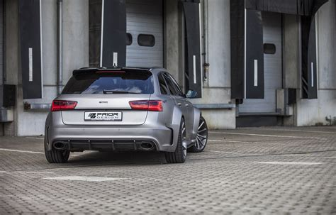 Audi A6 Avant 2 6 by Prior Design Releases Audi A6 Rs6 Avant Pd600r