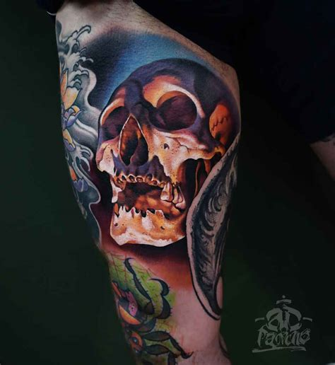 a d for tattoos artist a d pancho wroclaw poland inkppl