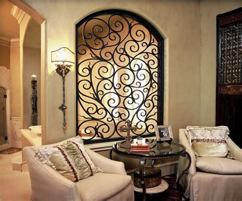 wrought iron wall decor decorating ideas
