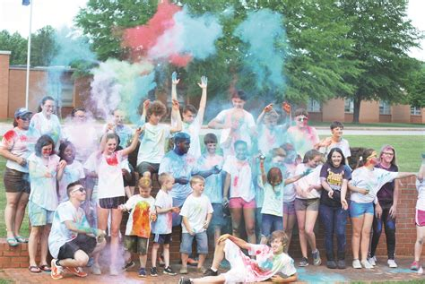 central high school hosts color run charity event