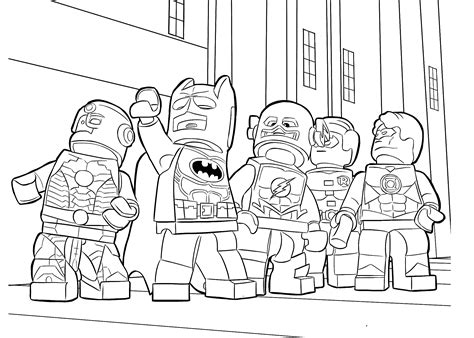 Printable Coloring Pages For Boys Batman by Lego Heroes Coloring Page For Boys Printable Free Lego
