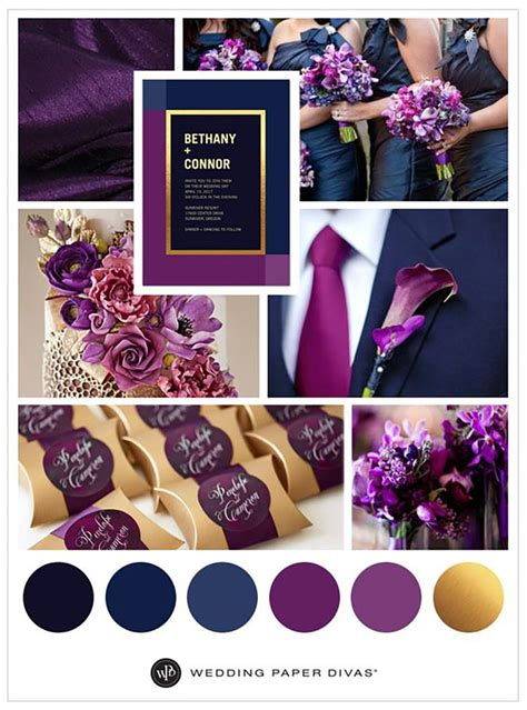 the color purple themes blue and purple colour scheme wedding ideas by colour chwv