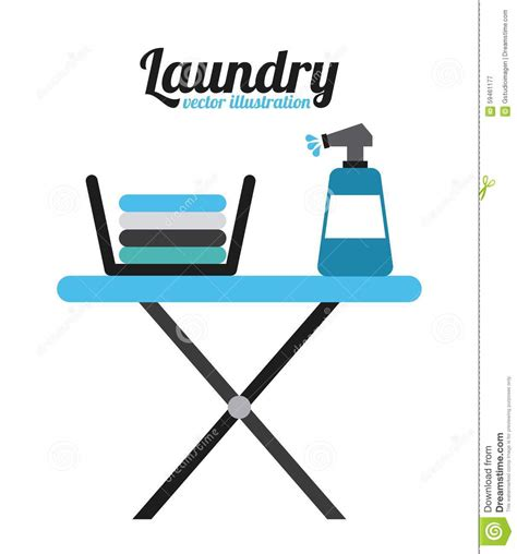 laundry graphic design laundry service stock vector image 59461177
