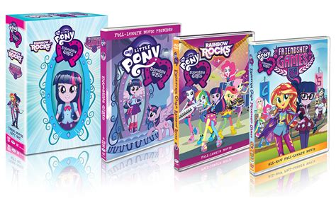 """My Little Pony: Equestria Girls"" Three Movie Set Coming October 13, 2015   ToonZone News"