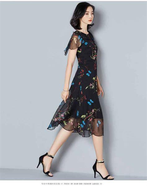 Baju Dress Fashion Wanita Motif dress pesta wanita motif terbaru model terbaru