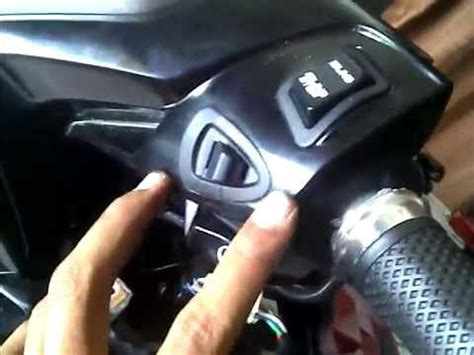 Switch Lu Honda Beat Fi pasang saklar vario 125 part2 by yanto