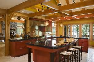 a frame kitchen ideas timber frame kitchen designs traditional kitchen new