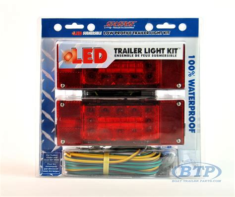 led boat trailer light kit led submersible boat trailer light kit low profile
