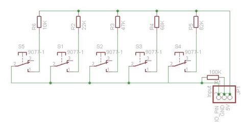 arduino resistor ladder buttons arduino resistor ladder buttons 28 images arduino midihacker tutorial analog input for