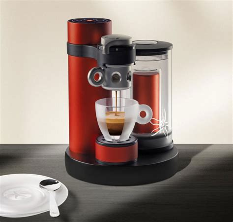 designboom coffee illy kiss combines a passion for espresso with swiss precision