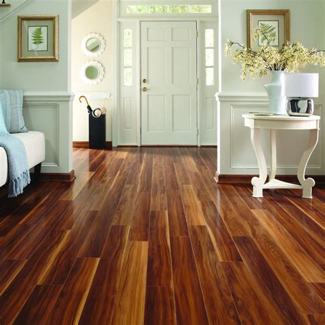 Pergo Flooring Cleaning by Shop Pergo Max 5 In W X 3 97 Ft L Visconti Walnut High