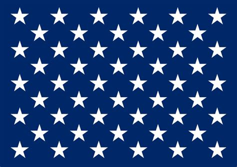printable american flag stars 6 best images of small american flag star stencil