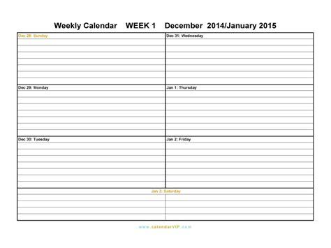 printable calendar one week printable two week calendar printable calendar 2017