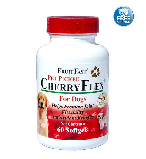 cherries for dogs cherryflex for dogs tart cherry tablets cherry pills for dogs