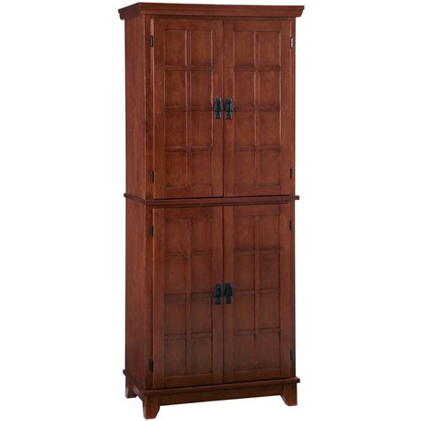 Home Depot Pantry home styles arts crafts cottage oak food pantry 5180 64 the home depot