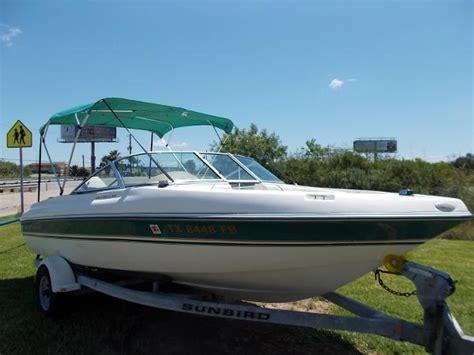 sunbird boat bimini top sunbird fish ski boats for sale