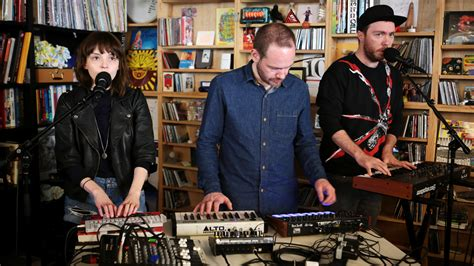 What Is Tiny Desk Concert by Chvrches Tiny Desk Concert Npr