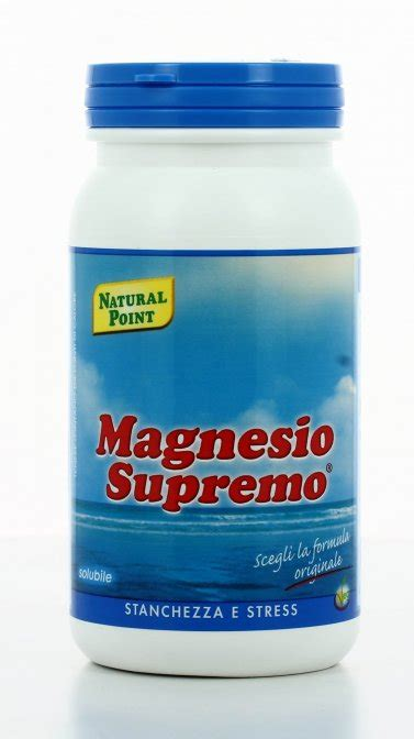 il magnesio supremo magnesio supremo 174 solubile point