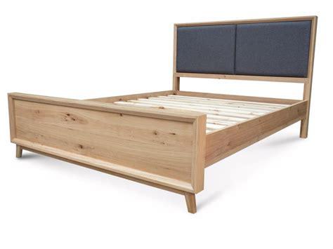 oak queen bed felix retro scandinavian oak queen bed living elements