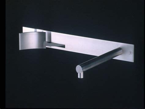 boffi rubinetti rubinetto per lavabo a muro in acciaio inox cut