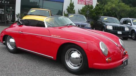 60s porsche 1960 porsche speedster replica by intermeccanica for sale