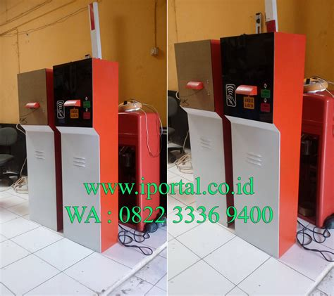 Manless Parkir Parking box ticket dispenser manless parking system iportal security systems