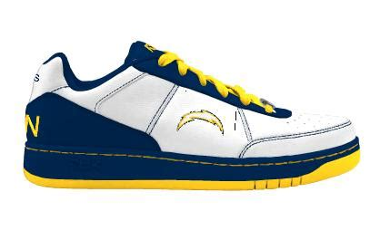 chargers shoes