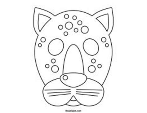 cheetah mask coloring page 17 best images about animaux de la jungle des for 234 ts