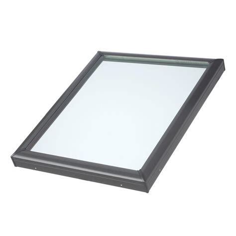 Home Depot Skylights by Velux 30 1 2 In X 30 1 2 In Fixed Curb Mount Skylight